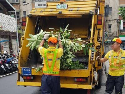 Garbage Collection in Taipei City Conducted at Designated Hours and Locations, with Sorted Recyclables to Be Collected on Selected Days of the Week
