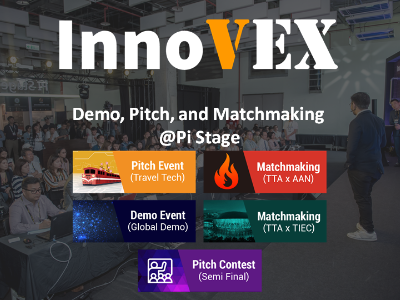 New Thinking, New Engineering, and New Future - Continuous Growth of InnoVEX 2019 Sees 467 Startup Teams from 24 Countries