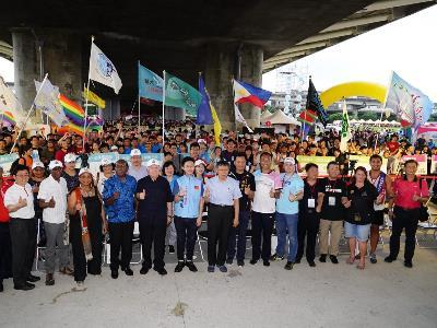 Mayor Attends Taipei International Dragon Boat Championship