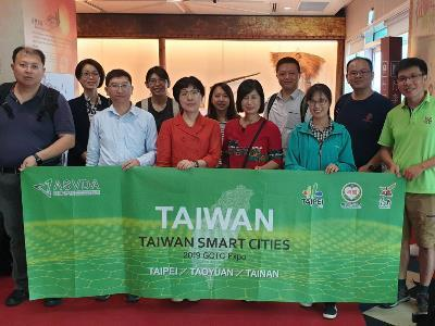 Taipei Delegation Attends GCTC in Washington DC, Promotes GO SMART