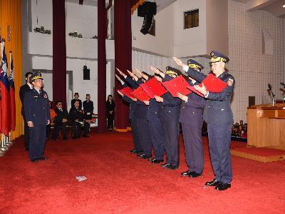 TCPD Holds Handover Ceremony for Precinct Chiefs, Commanders