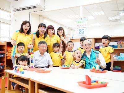 Mayor Attends Quasi-Public Kindergarten Accreditation Press Conference