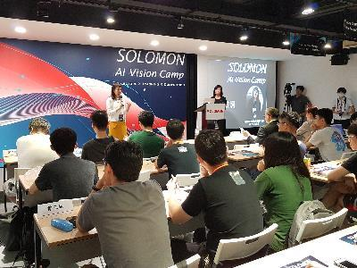 A.I. Vision Camp Conducted from 7/29-31 at digiBlock Taipei