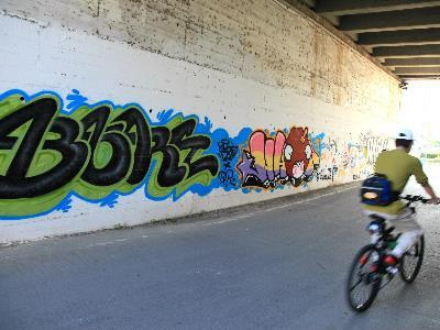 Eight Riverside Walls in Taipei City Now Open for Graffitiing