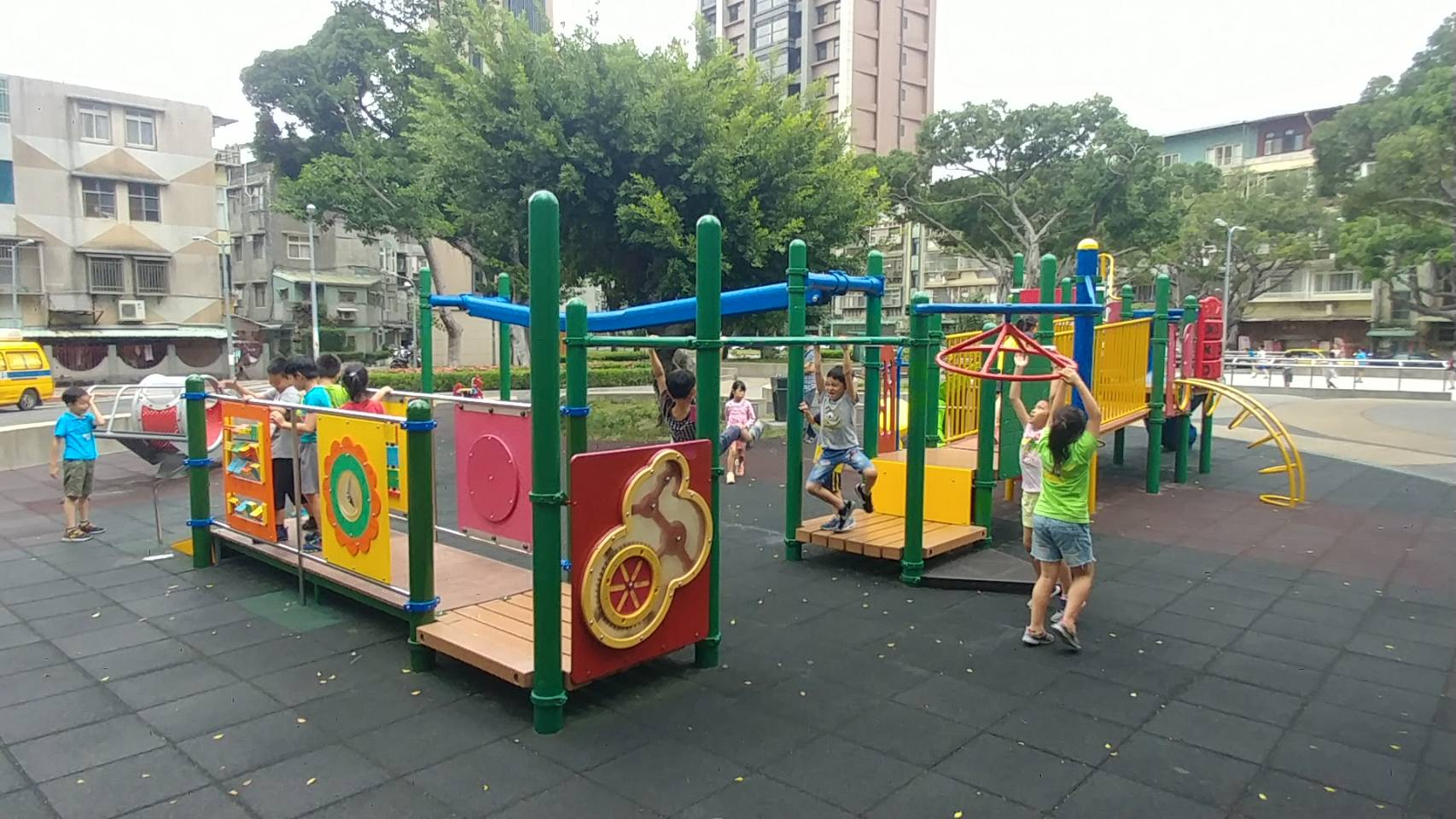One of the inclusive playgrounds in Beitou District