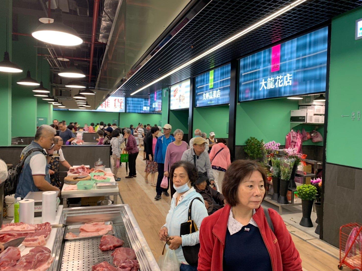Dalong Market soft opening event