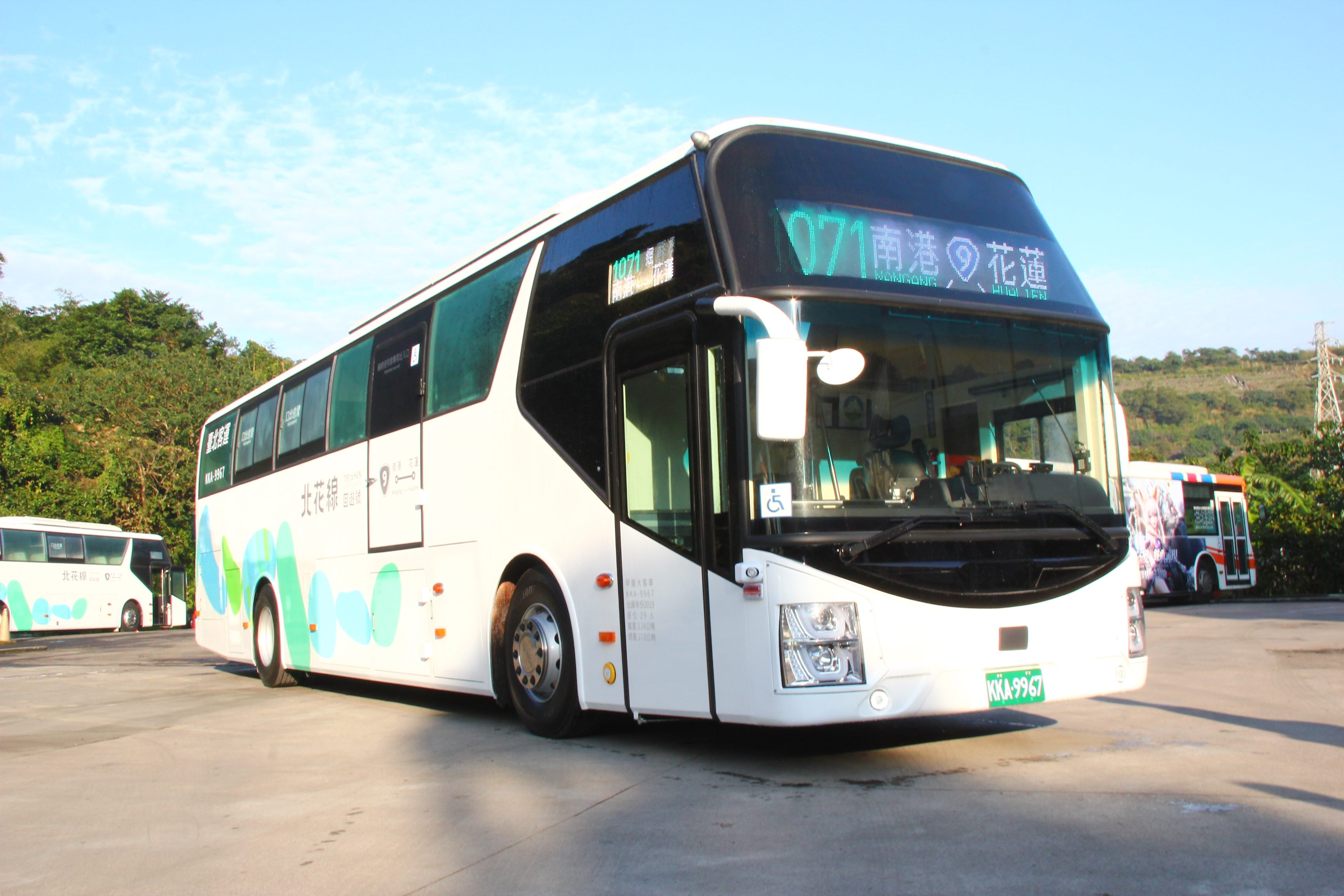 Taipei-Hualien bus service now available from Nangang Bus Station