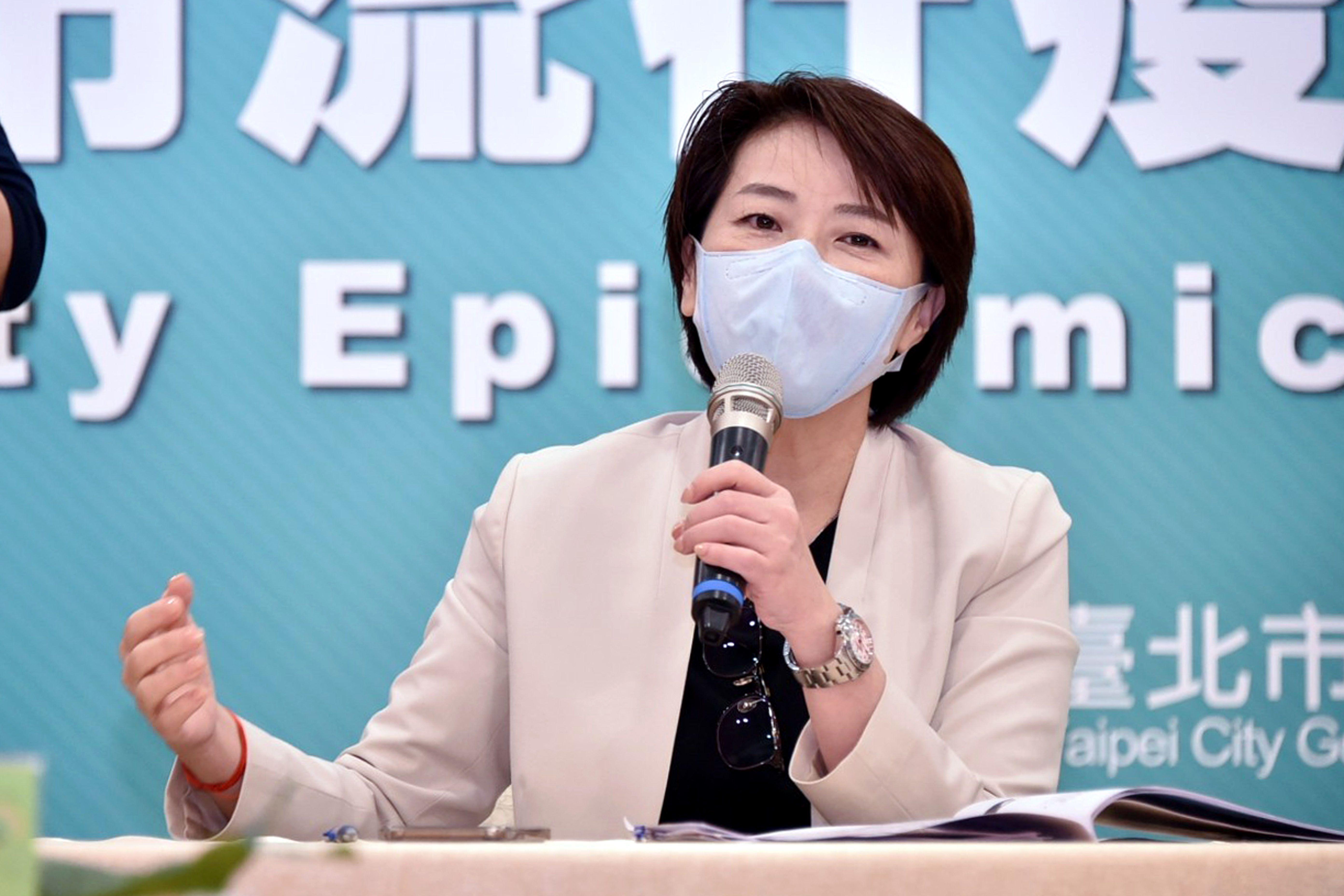 Deputy Mayor Huang Shan-shan