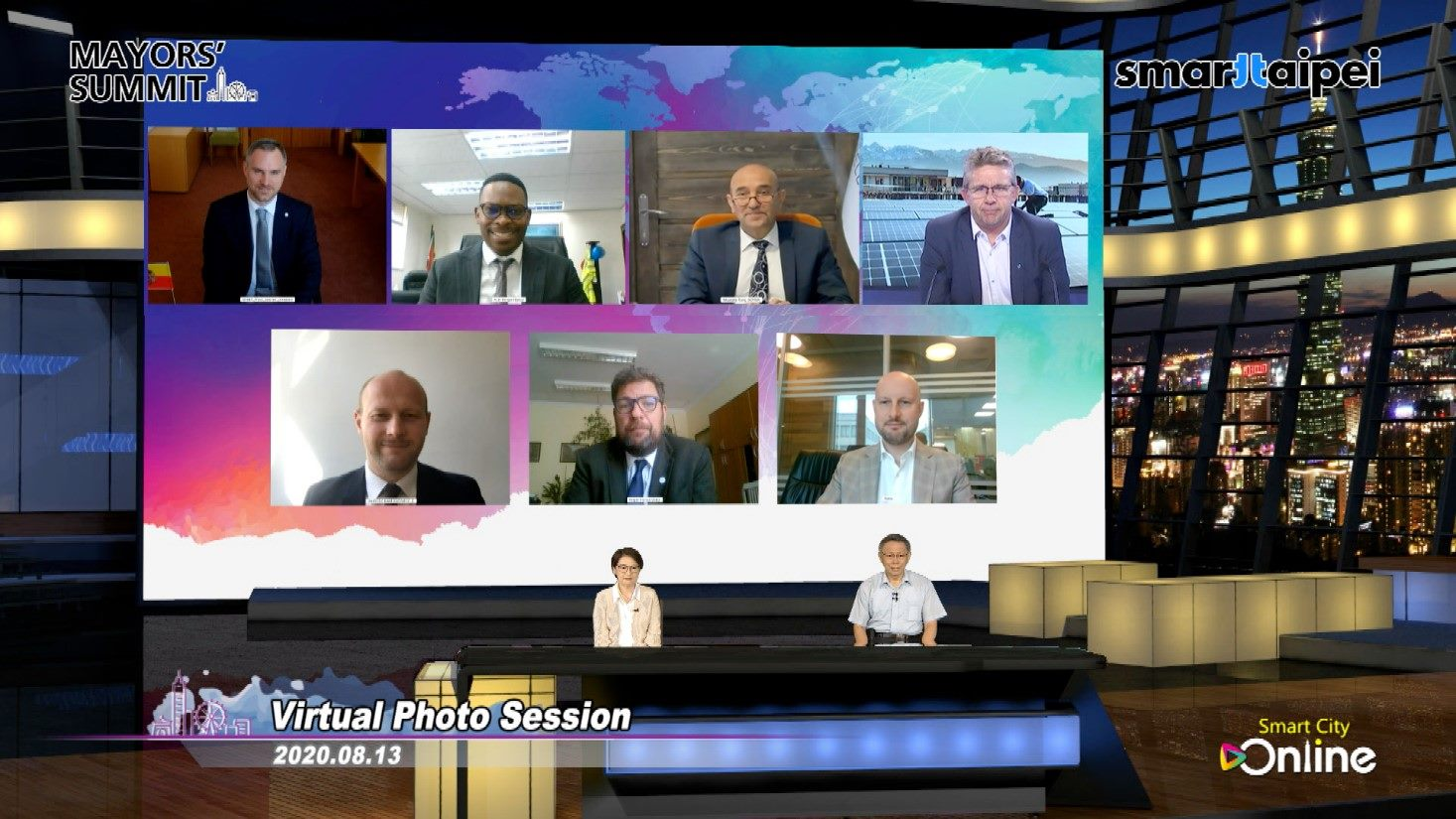 2020 Mayors' Summit (online) engaged mayors, deputy mayors and city representatives from Czech, France, Hungary, South Africa, Turkey, Poland, and Russia