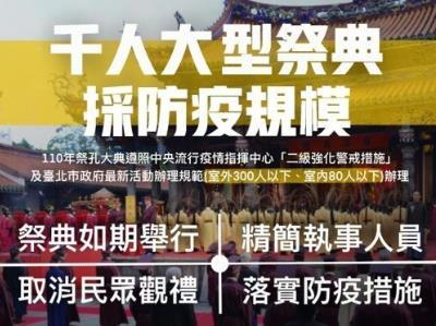Guidelines for this year's Confucius Ceremony