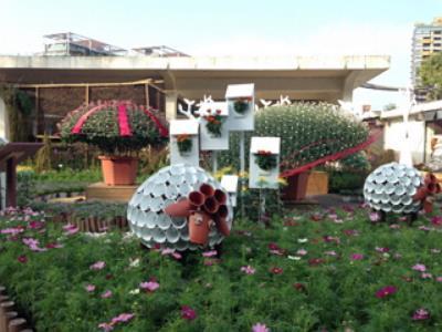 Touring with Monkey King: 2015 Shilin Residence Chrysanthemum Show