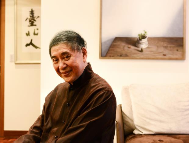 第25屆臺北文化獎得主白先勇(許培鴻攝影)
