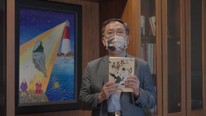 蔡炳坤副市長表示臺北文學獎由不同國籍、年齡層及職業的創作者共同參與