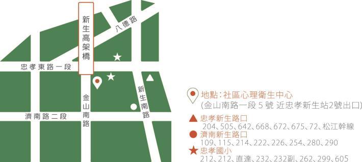 心衛中心地圖
