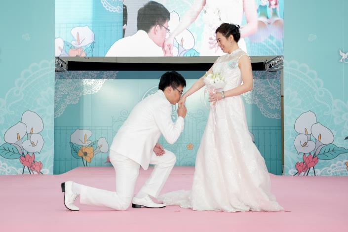 臺北市第218場聯合婚禮-新人進場