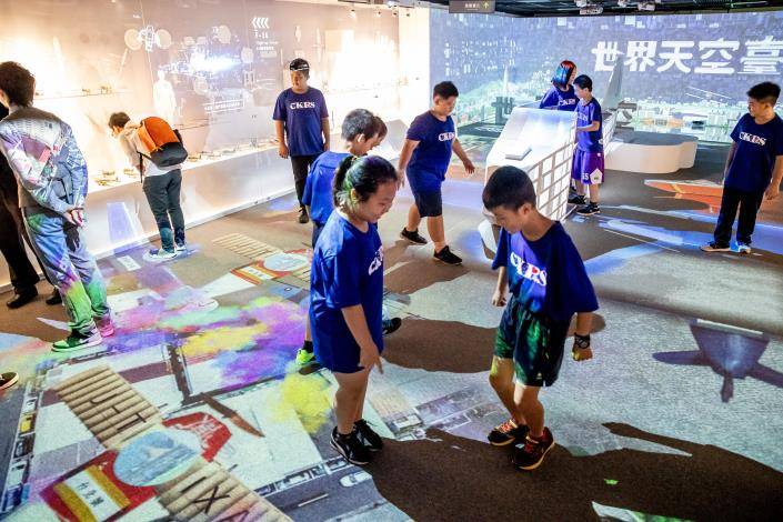 點擊觀看台北探索館世界天空臺北特展實境照片JPG