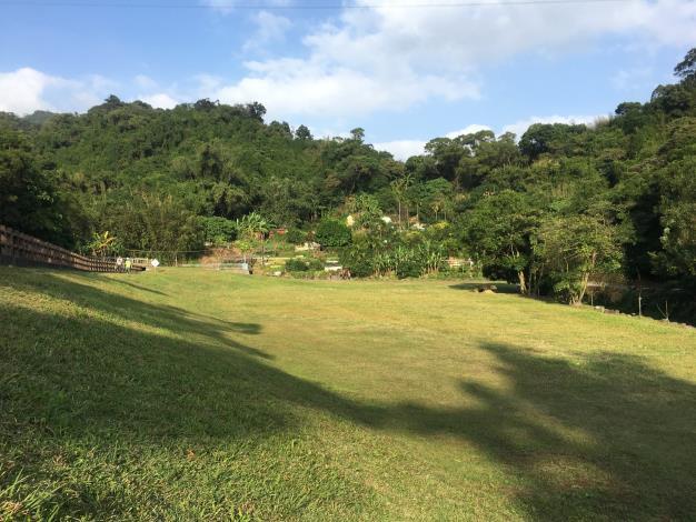 園區坡度平緩,廣大的草原適合野餐、踏青、散步,是帶小孩放電的天堂
