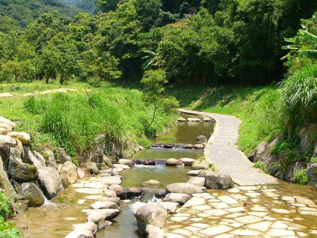 大溝溪生態治水園區,是市民遊憩休閒的好去處