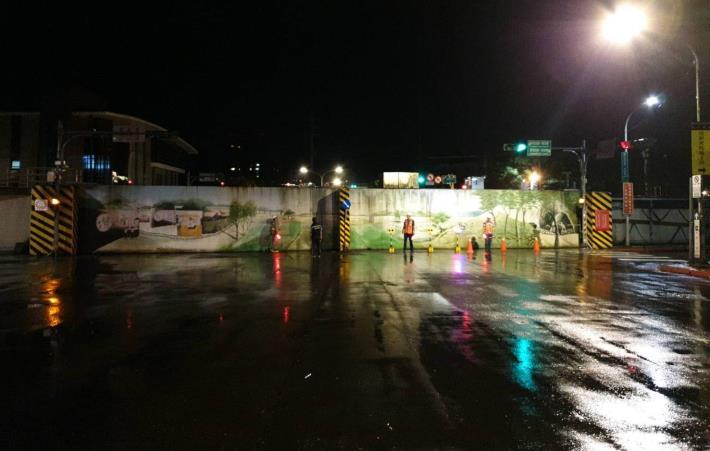 水利處將安排於深夜時間辦理試關「南深橋陸閘」