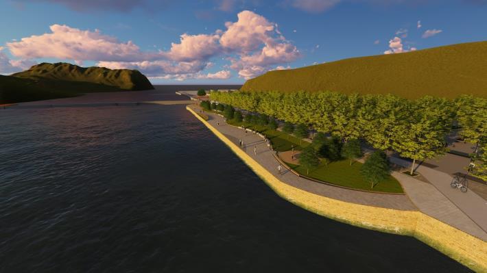 關渡碼頭區將有新氣象 北市斥資打造河岸新風光 示意圖 (2)