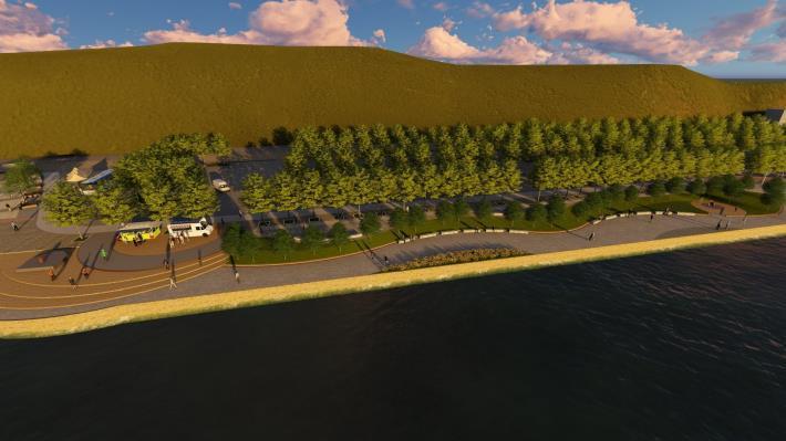 關渡碼頭區將有新氣象 北市斥資打造河岸新風光 示意圖 (3)