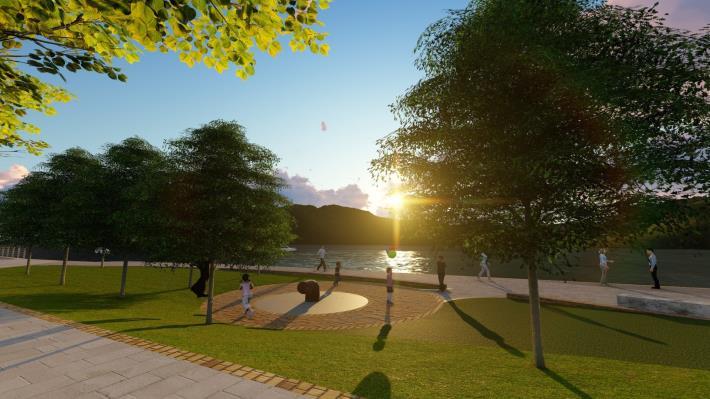 關渡碼頭區將有新氣象 北市斥資打造河岸新風光  示意圖 (1)