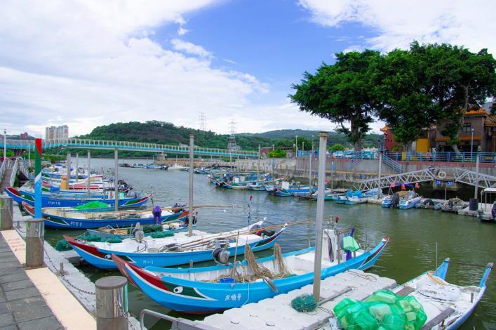 關渡碼頭附近景點  中港河碼頭 (2)