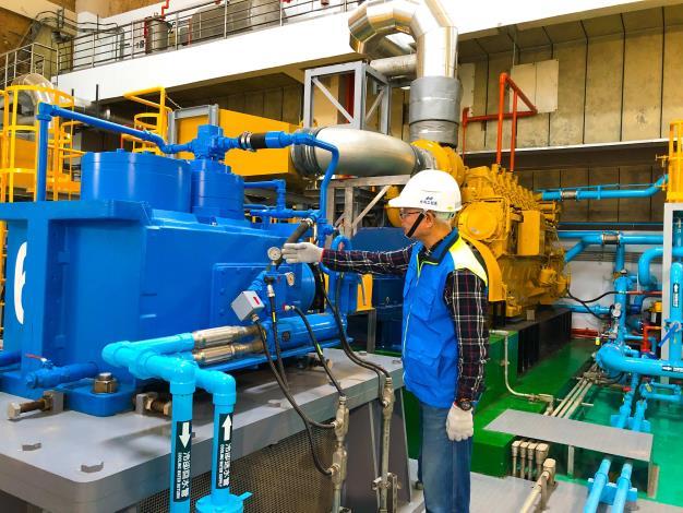 北市的87座抽水站,418部抽水機組都已測試整備完成