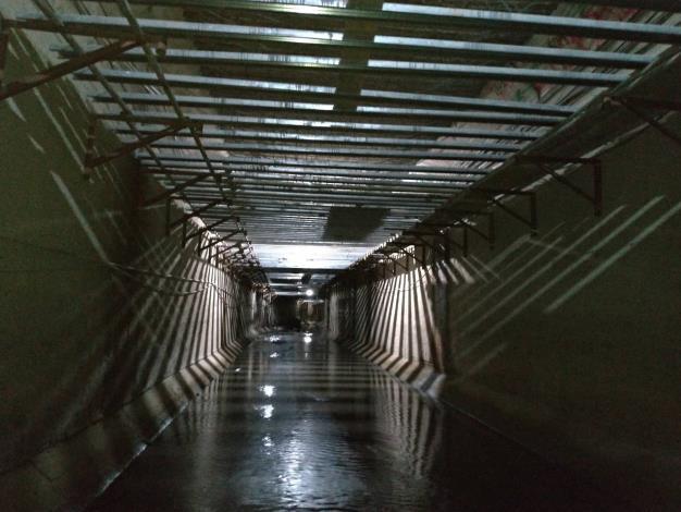 康樂街雨水下水道結構修補工程 上游標施工照片