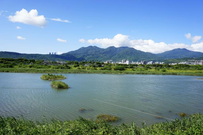 社子島濕地的僅擁有山光水色的絕佳美景