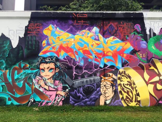 畫好畫滿 北市7處塗鴉牆即日起免費開放