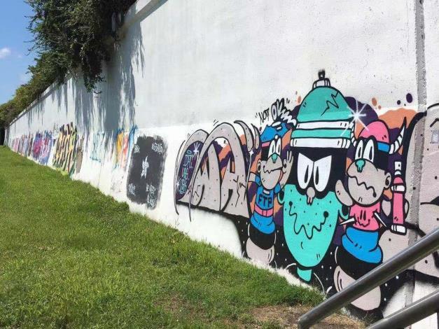 北市7處塗鴉牆即日起免費開放給大家塗鴉