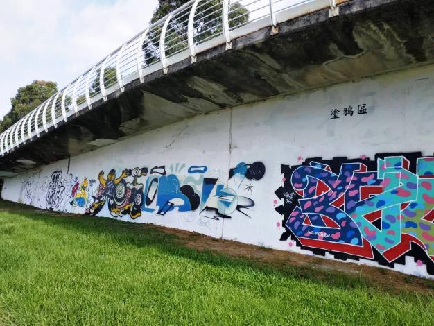 臺北市7處塗鴉牆已塗刷完畢 即日起免費開放