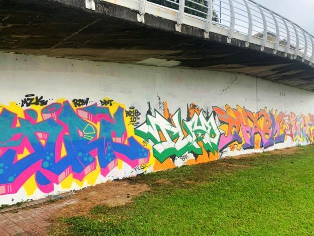 發揮你的創意 北市7處塗鴉牆即日起免費開放