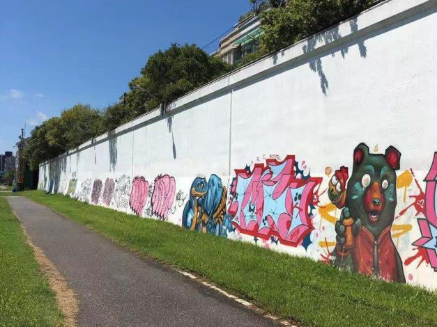 北市7處塗鴉牆即日起免費開放塗鴉