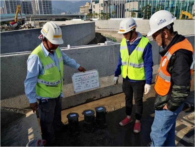 水利處表示除了美觀外,防汛工程的工程品質更是不能出任何差錯