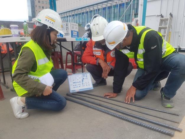 本工程施工期程無論是主辦機關、監造單位及施工廠商都頻繁的進行相關檢查