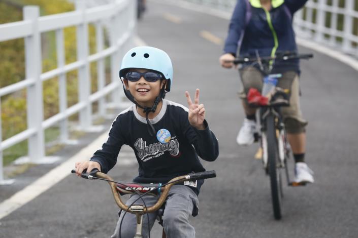 第4屆小鴨慢騎 小朋友開心參與
