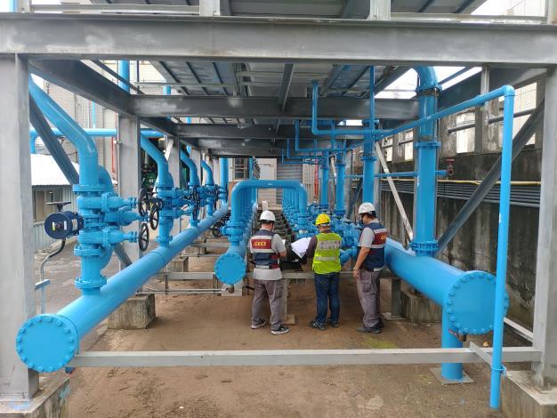 北市士林抽水站機組更新 冷卻水系統