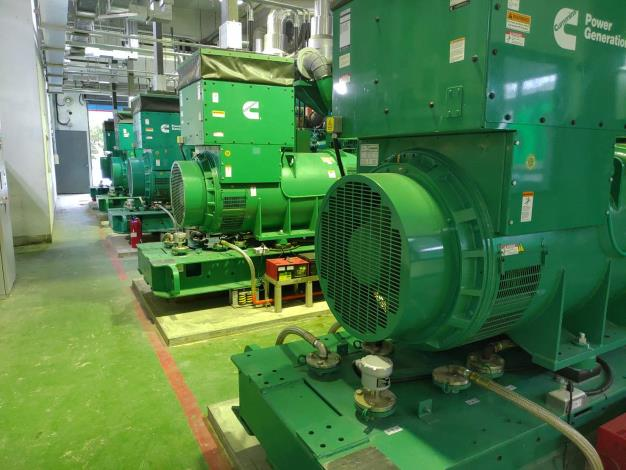 士林抽水站機組更新  發電機系統