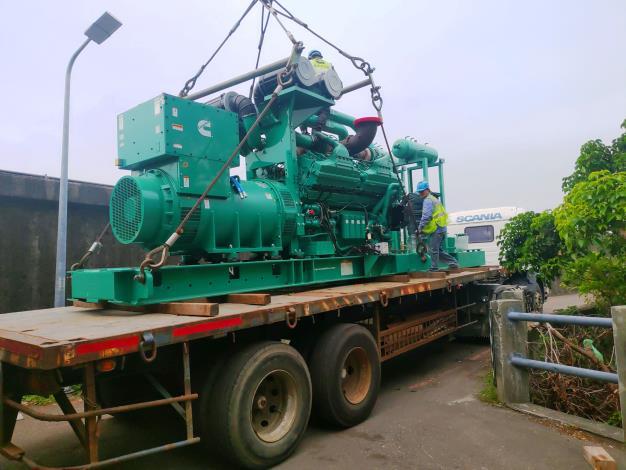 士林抽水機組更新  預計會將10台各5.1CMS(噸秒)抽水機汰舊換新