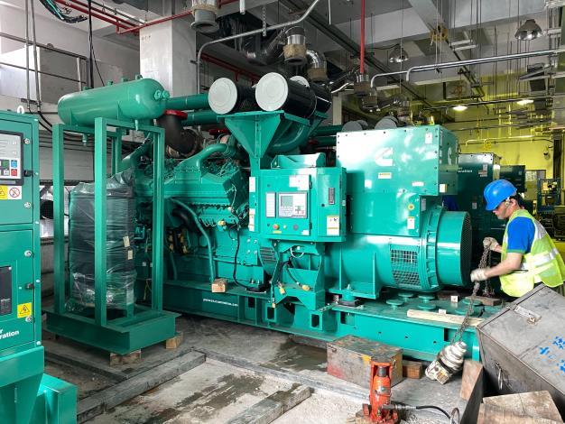 士林抽水站機組更新 預定於110年10月全面更新完成
