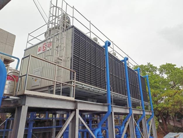 士林抽水站機組更新 冷卻水系統