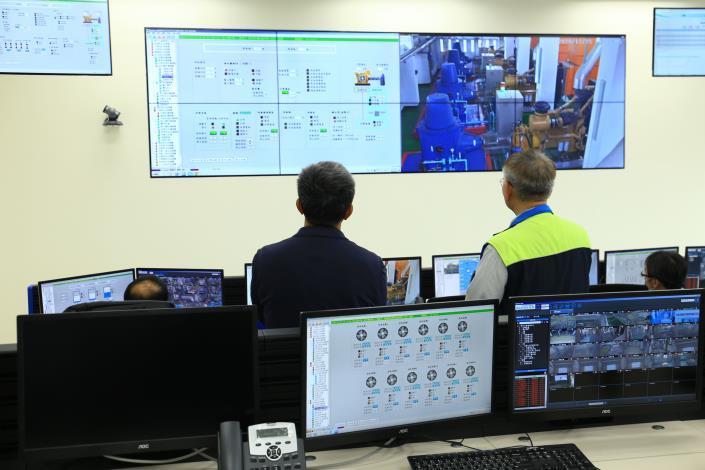 臺北市的87個抽水站領先全國,全面進入自動化監控的新時代