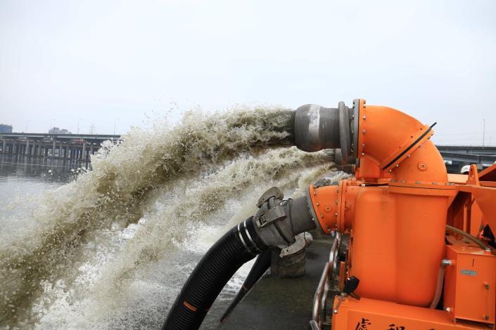 12英吋移動式抽水機