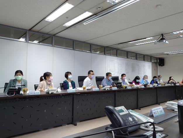 臺北市音樂與圖書中心新建工程廉政平臺第一次聯繫會議開會情形