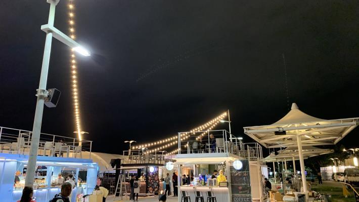 全新的大稻埕碼頭貨櫃市集 全新開幕 水利處邀請民眾一起來享受美食