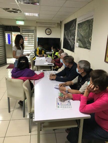 水利處已進行相關宣導,確保當地民眾了解疏散路線及安全避難所位置,110年度並已於3月31日及4月1日辦理完成。