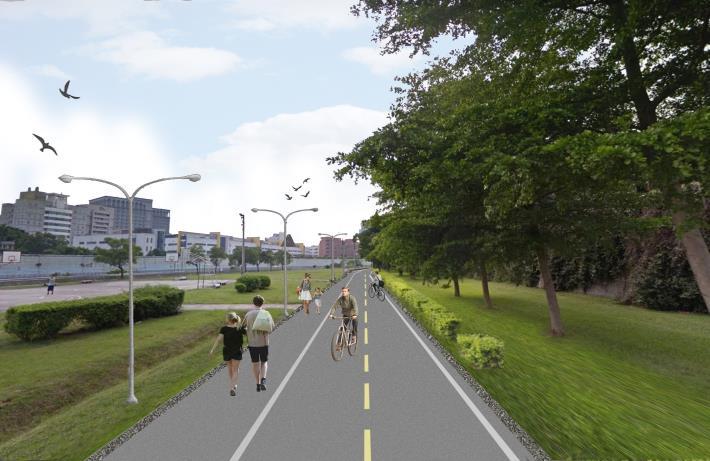 景美河濱自行車道動線改善工程已開工
