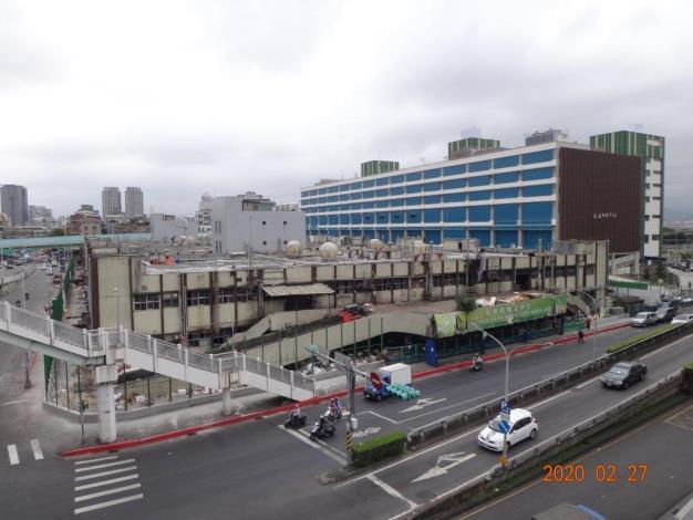 新舊市場照片